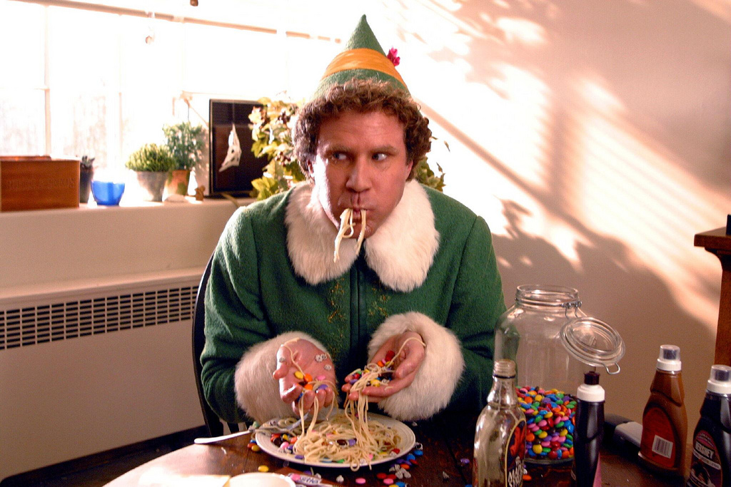 10 of the best scenes in elf - Best Funny Christmas Movies